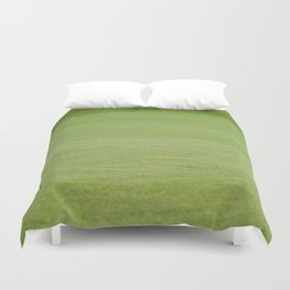 Golf balls near flagstick Duvet Cover