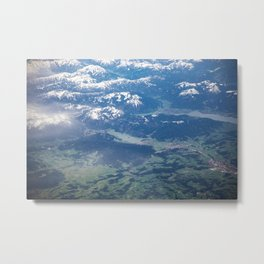 The great Alps Metal Print