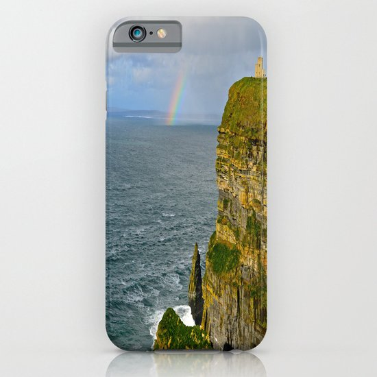 Cliffs of Moher Rainbow iPhone & iPod Case