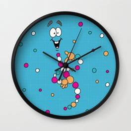 Mr. DNA 1 Wall Clock