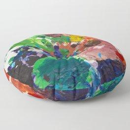 Palette of Colors Floor Pillow