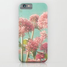 Pink Milkweed Slim Case iPhone 6s