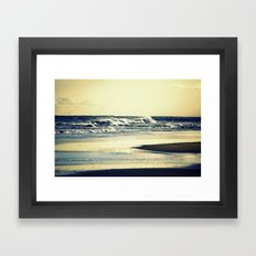 Hatteras Beach Framed Art Print