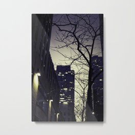 Morning  at 30 Rock Metal Print