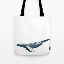 Galactic Whale Tote Bag