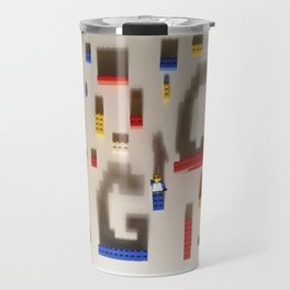 Lego Poster Travel Mug