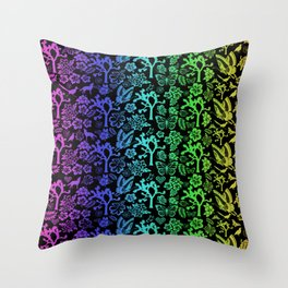 Joshua Tree Colores By CREYES Throw Pillow