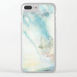 Break in the Storm Clear iPhone Case