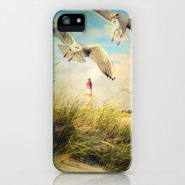 Maritime Impression iPhone Case