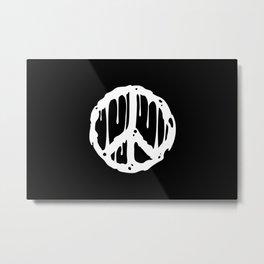 Toxic Peace Metal Print