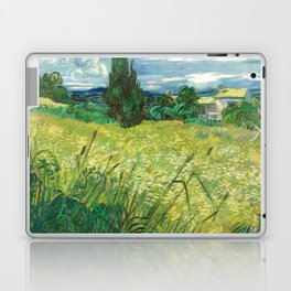 Green Field by Vincent van Gogh Laptop & iPad Skin