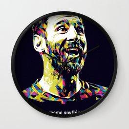 Lionel MessiQuotes Wall Clock