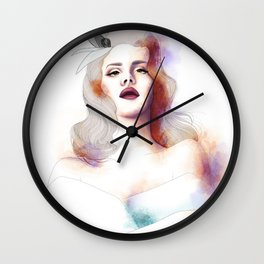Spring Races Wall Clock