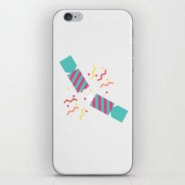 #50 Christmas Cracker iPhone Skin