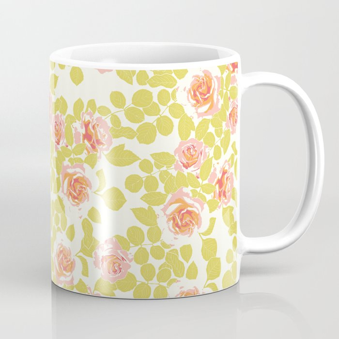 rose garden pink Coffee Mug