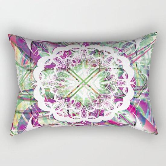 Introspective Reflection Rectangular Pillow