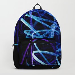 Electric Blue Flow Backpack
