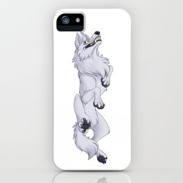 Demented Wolf iPhone Case