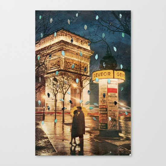 Rain Cant Touch Us Canvas Print
