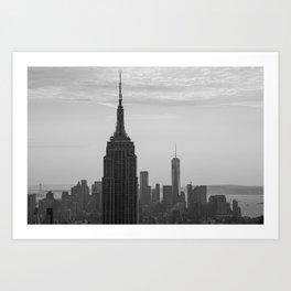 Empire State Building III Art Print