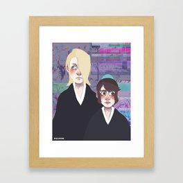 Bleach print 5 Framed Art Print