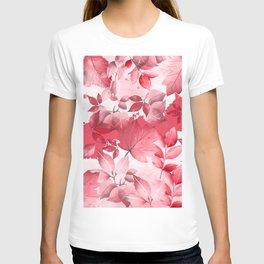 Watercolor Autumn Leaves 5 T-shirt