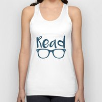 read Tank Tops featuring Read  by E.A. Creative