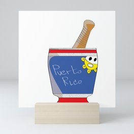 PILON PUERTO RICO Mini Art Print