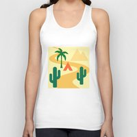 camping Tank Tops featuring Camping by Mr and Mrs Quirynen