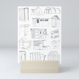 COVER, Contain, Compost - 3 of 3 Mini Art Print
