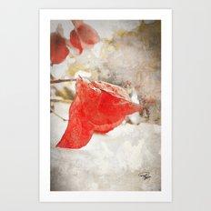 LAST KISS Art Print