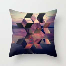Remnants of the Day Throw Pillow