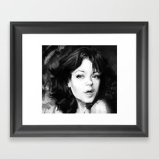 Faina Framed Art Print