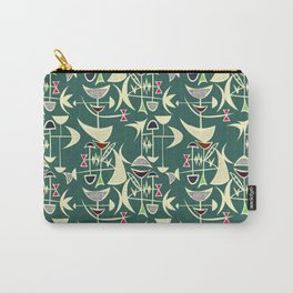 Peppermint Carry-All Pouch