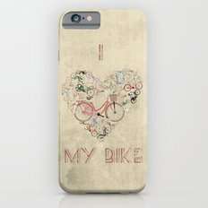 I Love My Bike iPhone 6 Slim Case