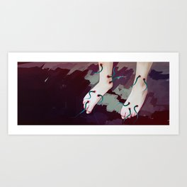Dance me Art Print