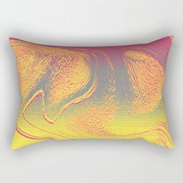 strange wave Rectangular Pillow
