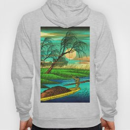 Seba Ohta River Japan Ukiyo e Art Hoody