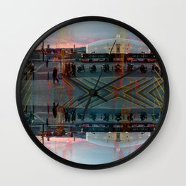 Akin to recalling, instead; understood mimicry. 12 Wall Clock