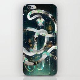 The Rainbow Serpent iPhone Skin