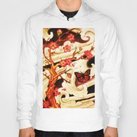 cherry blossom Hoodies featuring Cherry Blossom by Roxanne Bornman