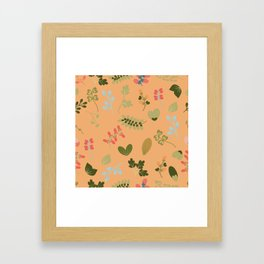 Glorious Floral Framed Art Print