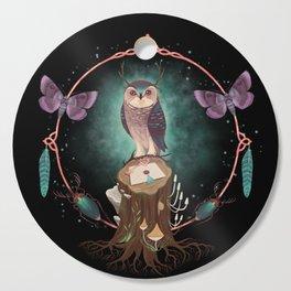 Enchanted Woodland Secret Keeper And Dream Catcher Cutting Board