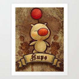 Kupo - Moogle Art Print