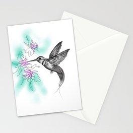 Purple November Stationery Cards