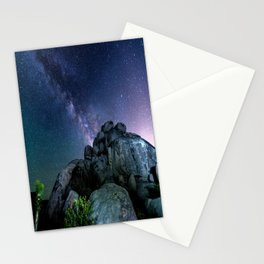 Milky Way Rock Stationery Cards