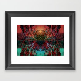 The Lake of Pure Mind Framed Art Print