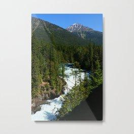 Mac Donald River Rapids Metal Print