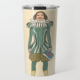 Outfit of Shakespeare Travel Mug