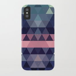 Triangle Space iPhone Case